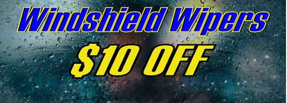 $10 Off Windshield Wipers